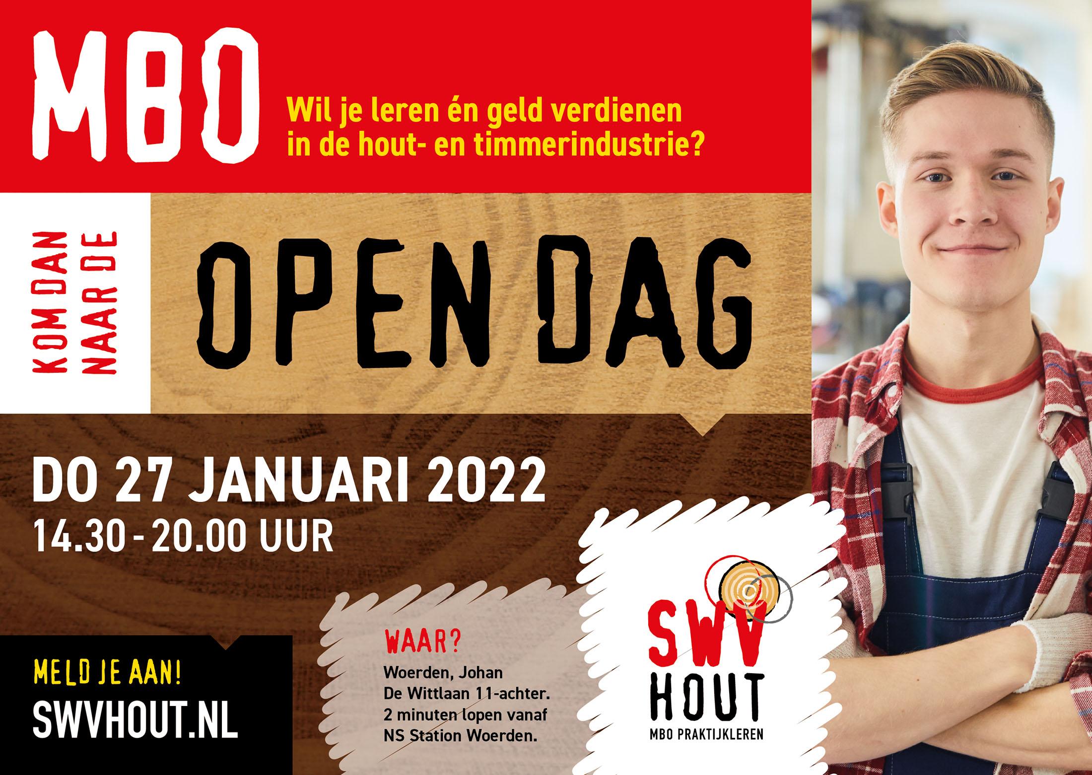 SWV Hout: open dag 22 januari 2022